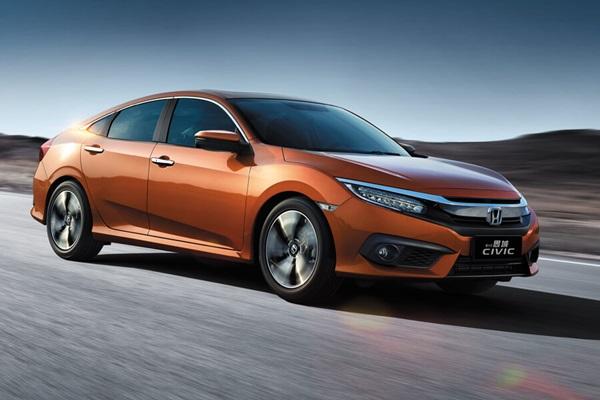 與台灣規格最相近 第十代Honda Civic中國發表