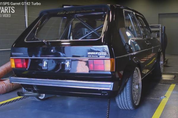 超齡羊皮狼!這輛 42 歲的 Golf 讓你連車尾燈都看不到......