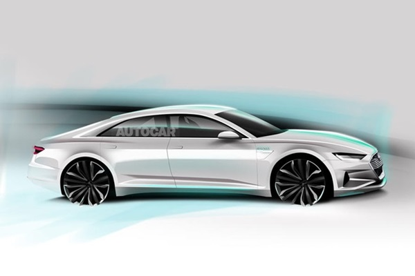Audi 要推全新豪華車款 A9!動力與科技竟然這麼強!