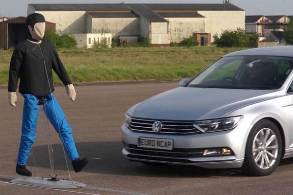 歐盟掛保證! 這五款車最在意行人安全(內有影片)