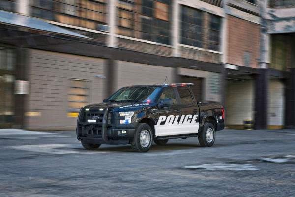 貨卡化身警車!  霸氣 Ford F-150 強化警界陣容