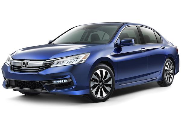 Honda Accord Hybrid 美國小改發表 省油功力再精進!