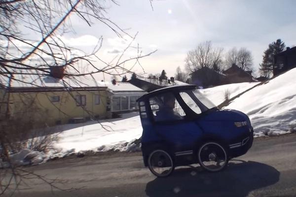 單人小汽車?其實它的功能你想不到!(有影片)