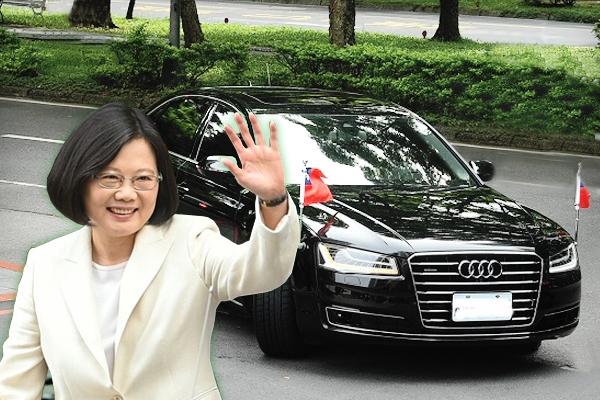新總統座車登場!小英這輛 Audi 真的與眾不同
