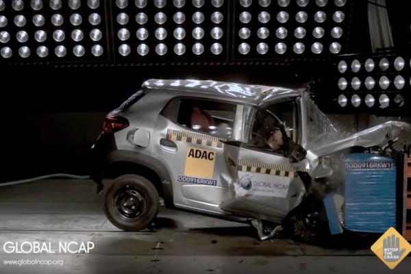 嚇死人!這些車子安全撞擊測試居然 0 顆星!(有片)