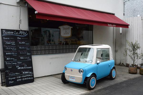 連阿公都能開!  超好停車的電動小車日本明年上路
