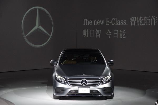讓駕駛更輕鬆的科技配備   Mercedes-Benz E-Class 第 10 代台灣發表