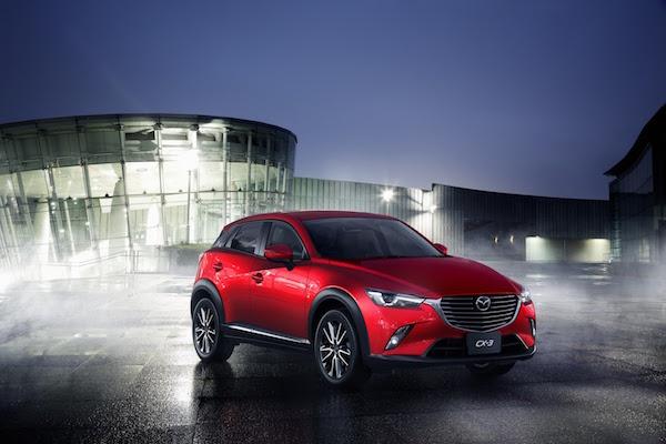 Mazda CX-3 新年式美國推出!主動式安全配備下殺 6 折!