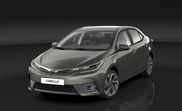 神車小改款   Toyota Altis 內裝變明亮了!