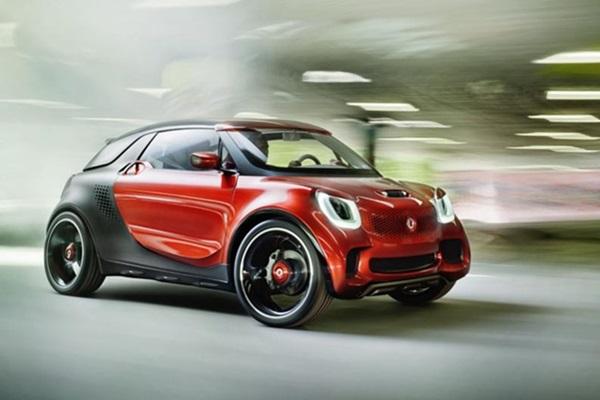 城市小車再進化!Smart 全新 EV 車款巴黎亮相