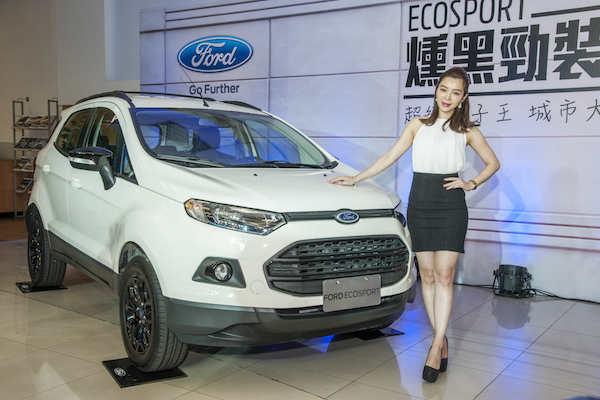 都會輕休旅 Ford Ecosport  燻黑勁裝版加配備不加錢!