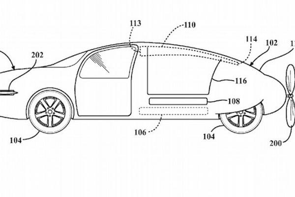 Toyota 車子新專利,飛行車草圖曝光!