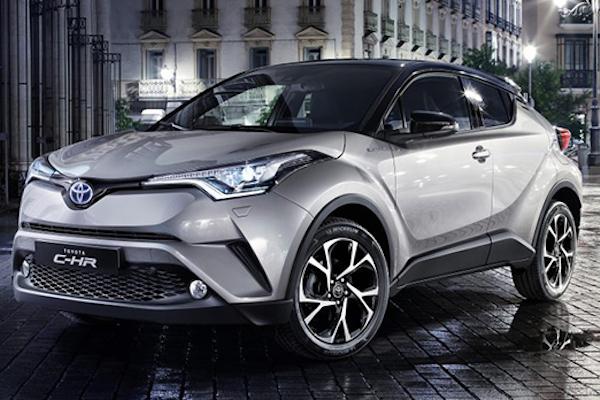 重量級跨界小車 Toyota C-HR 內裝曝光!超驚豔!(內有影片)