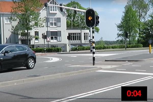 深夜還要等百秒紅燈?荷蘭推出智慧紅綠燈