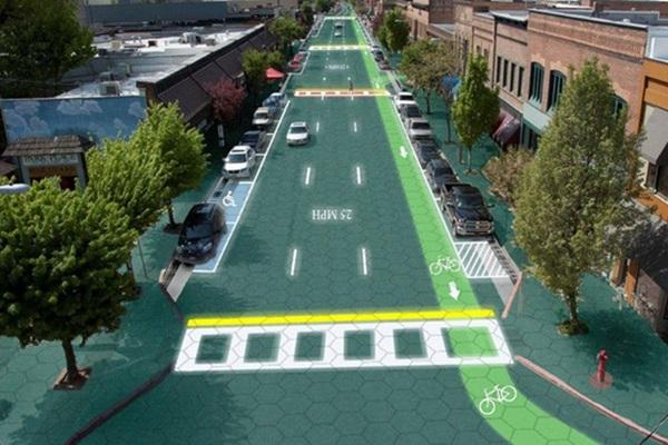 實現無線充電!美國 66 號公路實驗太陽能道路
