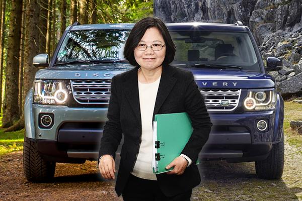 總統座車悄悄換了⋯小英改搭這輛硬漢休旅車!(內有相片集)