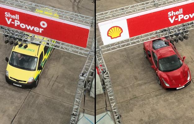 性能不見得吃香!這次 Ferrari 竟輸給救護車...(有影片)