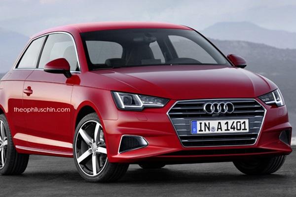 全新第二代 Audi A1 長這樣?預計 2018 年正式登場