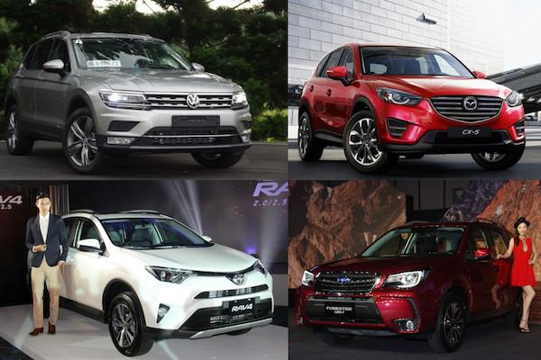 Volkswagen Tiguan 德制休旅 VS 日本休旅,你該選哪一輛?