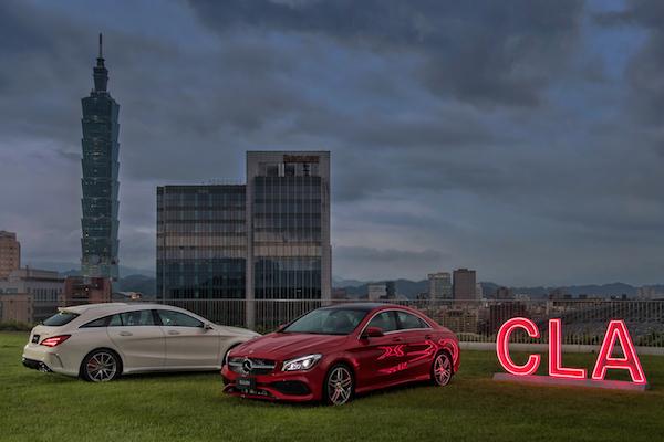 Mercedes-Benz 的小車也很有型!CLA/CLA Shooting Brake 小改版台灣上市
