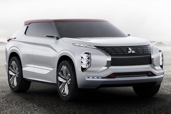 Mitsubishi 終於有帥氣休旅了!GT-PHEV 油電概念車現身