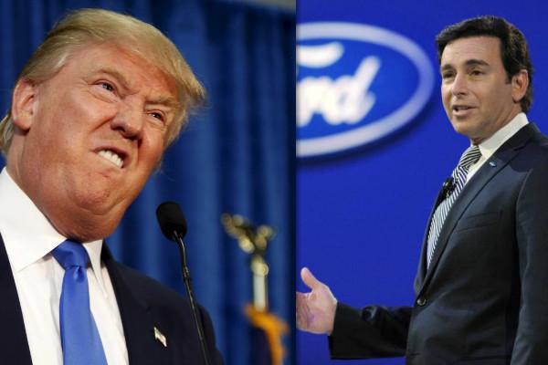 Ford 美國廠想搬家墨西哥,川普怒嗆:提高關稅!
