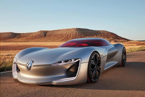 法國人的電動概念車,居然是從頂蓬上下車?(內有影片)