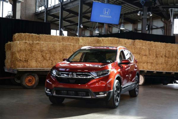 Honda CR-V 第五代國外曝光,渦輪引擎新亮點!(內有相片集)