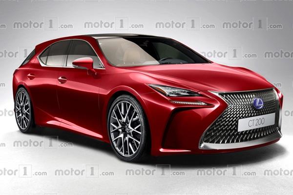 依舊會有掀背車!Lexus 全新 CT200h 預想圖出爐