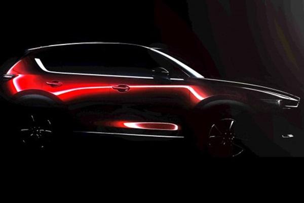 側面曲線好誘人!全新 Mazda CX-5 預約洛杉磯車展!