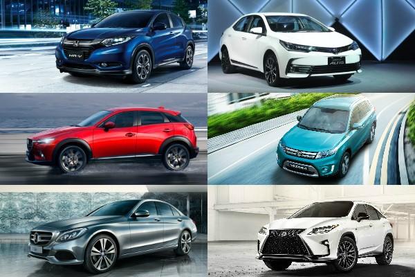 2016 年 10 月汽車銷售排行出爐!跨界休旅車成熱門新話題!