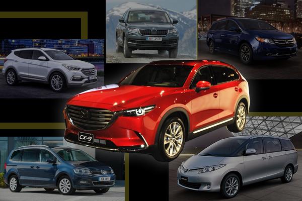 Mazda CX-9 參戰七人座市場!5 大同級對手不可小覷