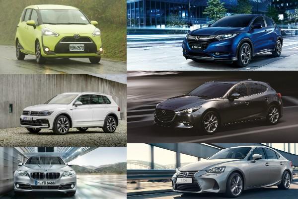2016 年 11 月汽車銷售排行出爐!全年累積銷售逼近 40 萬輛大關
