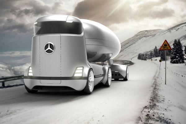 最快的未來卡車? M-Benz E-Truck 預想圖曝光(內有相片集)