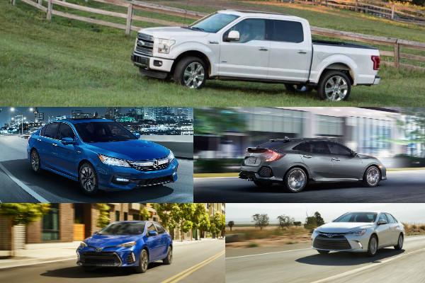 美國 2016 年汽車銷售總排行,Altis 只排名第 6