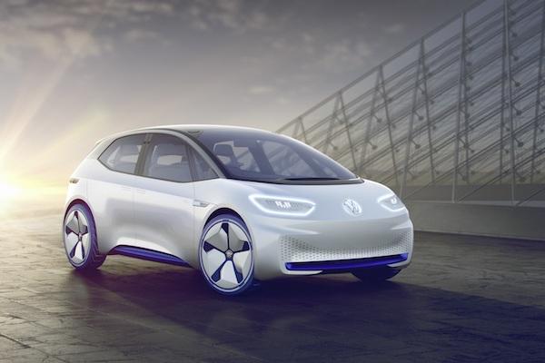 3 年後正式量產,這輛 Volkswagen I.D.概念電動車空間超寬敞!