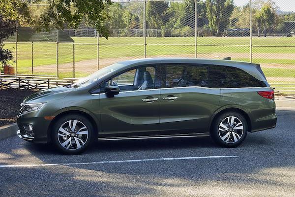 全新 Honda Odyssey 北美版現身,座椅運用像在玩魔術!
