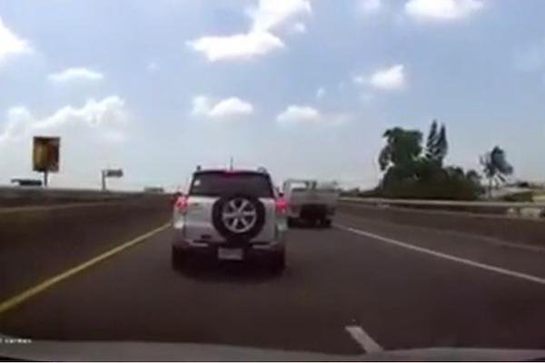 遇到國道惡意逼車,警方建議你可以這樣處理!