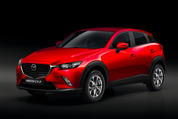 擺明衝著 Honda HR-V!Mazda CX-3 新增 i-ACTIVSENSE 安心特仕版