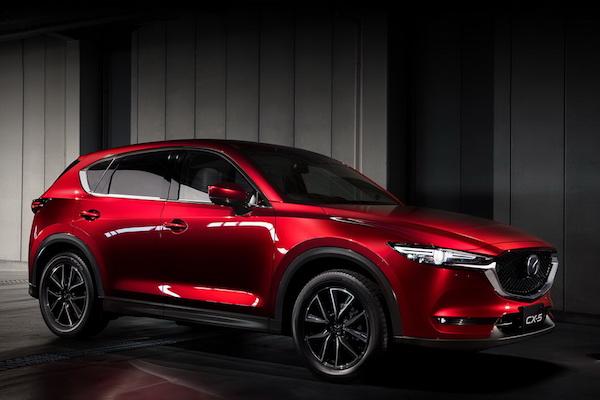 Mazda CX-5 有望推出 5+2 人座版本?Honda CR-V 將首當其衝!