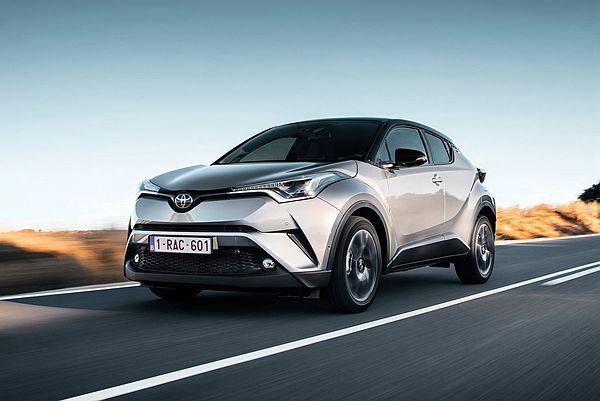 網友熱議 Toyota C-HR!歐、日規基礎車型比一比(內有影片)