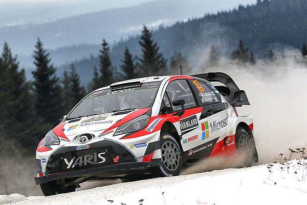 這不是小鴨!Toyota Yaris WRC 第 2 次出賽就跌破眾人眼鏡...