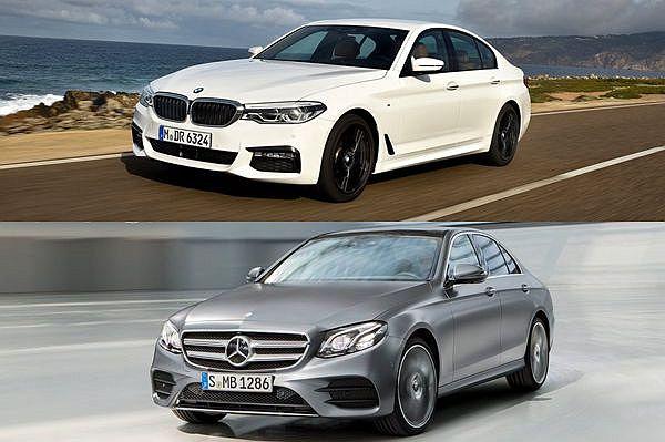 選 Mercedes-Benz 還是 BMW ?全新 5-Series 上市前,先和 E-Class 同場較勁優勢評比!