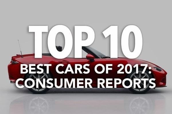 消費者報告選出 2017 最佳車款 TOP10!亞洲車廠大獲全勝!