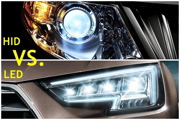 大燈光源要選 HID 還是LED?國外車主用同款車比較給你看(內有影片)