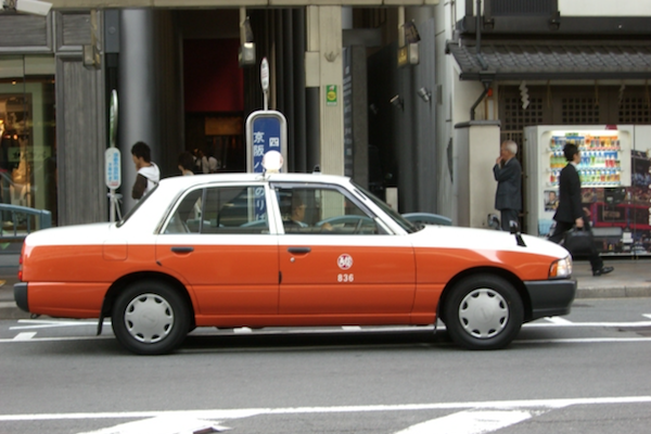 日本京都推廣沈默計程車,乘客終於可以安靜坐車!