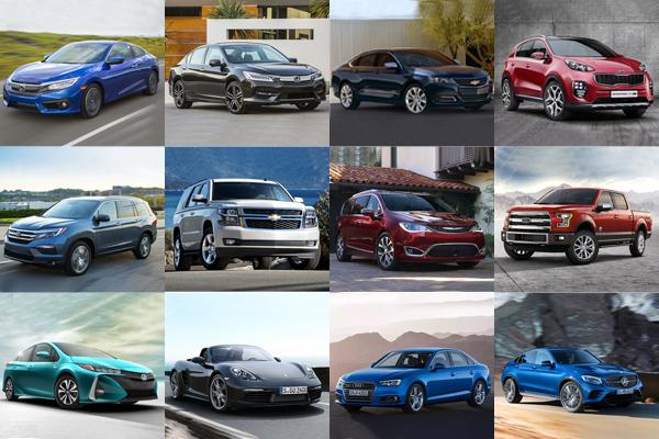 美國最大汽車估值單位選出,2017 年各級距「最值得購買」車款!