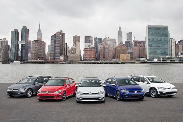 台灣還差一款?美規小改 Volkswagen Golf 家族大集合