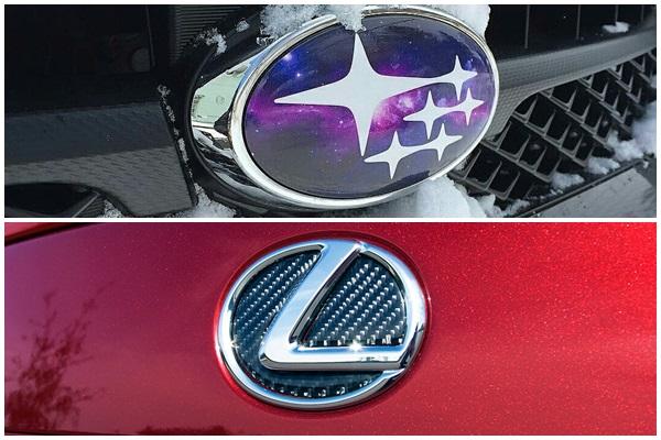 消費者心目中形象最好的汽車品牌,Subaru 與 Lexus 贏得多項頭銜!