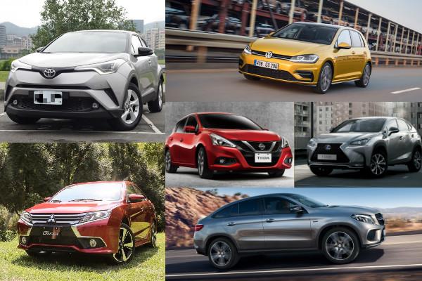 2017 年 4 月汽車銷售排行出爐,小改款新車開紅盤拉抬氣勢!